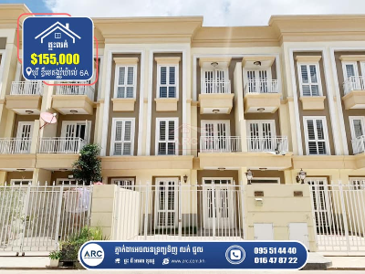 Link House (LH3) for Sale! Borey The Mekong Royal 6A