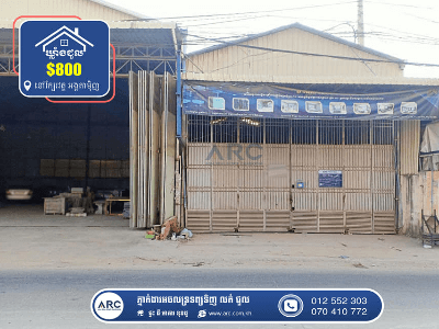 Warehouse for Rent ! Nearby Angtamenh pagoda
