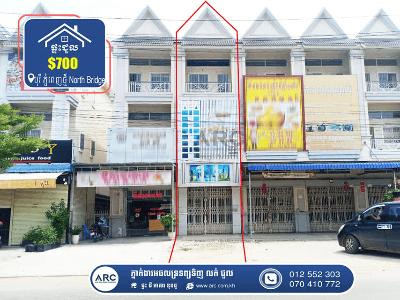 Flat for Rent! Borey Phnom Penh (North Bridge)